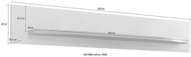 Küchenregale - INOSIGN Wandregal »Rondo«, Breite 130 cm  - Onlineshop OTTO