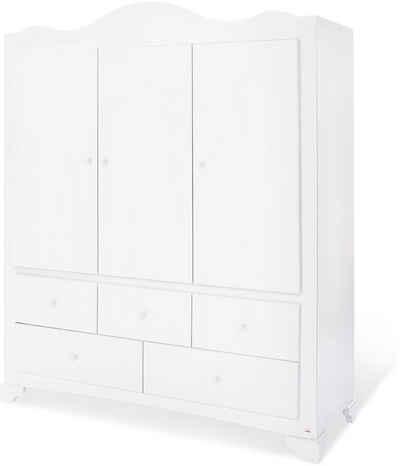 Pinolino® Kleiderschrank »Pino« groß mit 3 Türen; Made in Europe