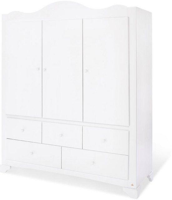 Babyzimmer - Pinolino® Babyzimmer Komplettset »Pino«, (Set, 3 tlg), breit groß mit 3 Türen  - Onlineshop OTTO