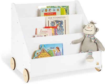 Pinolino® Bücherregal »Lasse«, weiß