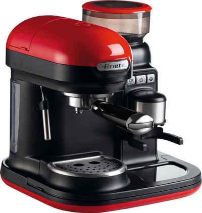 Ariete Espressomaschine 1318 moderna, mit Mahlwerk