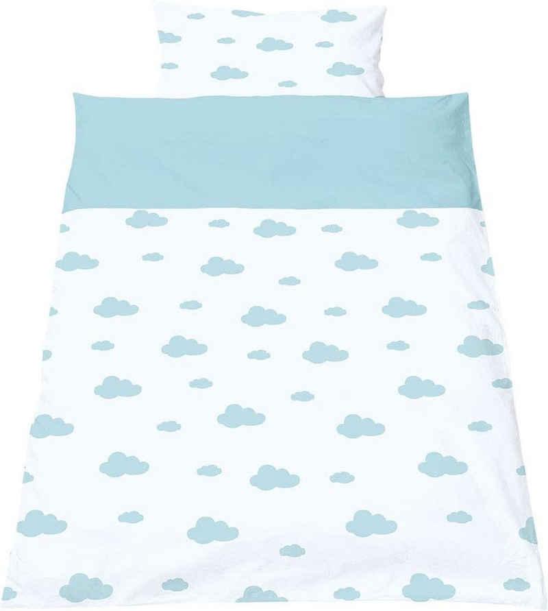 Babybettwäsche »Wölkchen«, Pinolino®, mit niedlichen Wolken