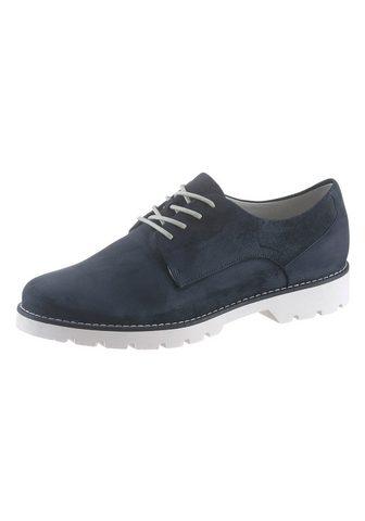 Ботинки со шнуровкой с мягкий мягкий о...