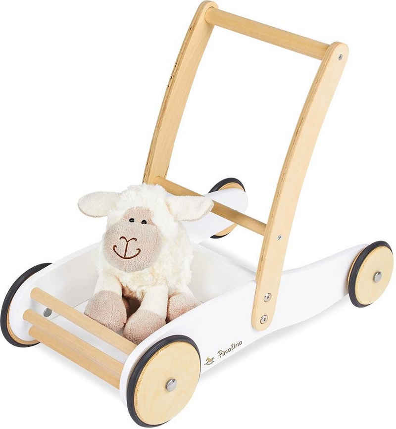 Pinolino® Lauflernwagen »Uli, weiß«, aus Holz