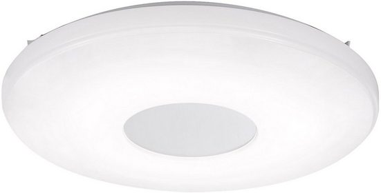Leuchten Direkt Deckenleuchte »LAVINIA«, CCT Farbtemperaturregelung (verstellbar von 2700-5000K) Dimmbar über Fernbedienung Memory nach Trennung vom Netz, Ø 44 cm