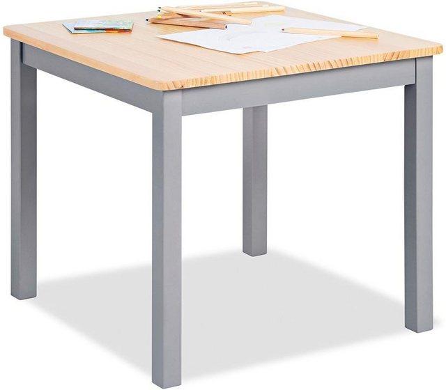 Kindertische - Pinolino® Kindertisch »Fenna, grau natur«, für Kinder  - Onlineshop OTTO