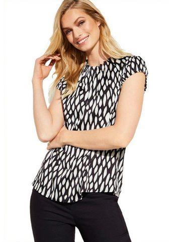 COMMA Блузка с набивным рисунком