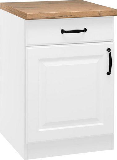 wiho Küchen Unterschrank »Erla« 60 cm breit mit Kassettenfront