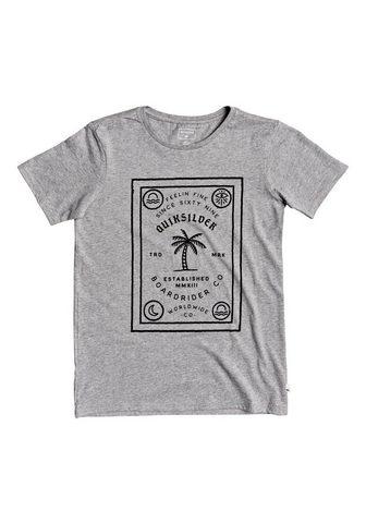 QUIKSILVER Marškinėliai »Bad Liar«