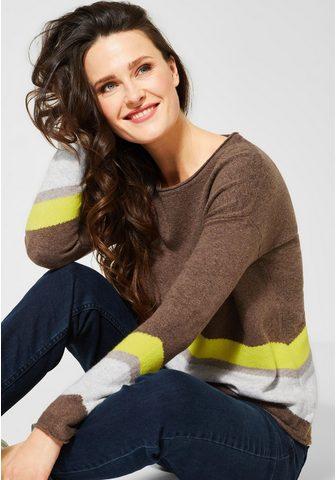 CECIL Пуловер с круглым вырезом