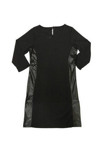 MILLION-X Платье »mit Ledereinsatz«