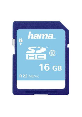 HAMA SDHC Atminties kortelė 16 GB Class 10 ...