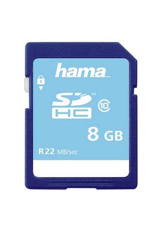 HAMA Atminties kortelė SDHC 8GB Class 10 »f...