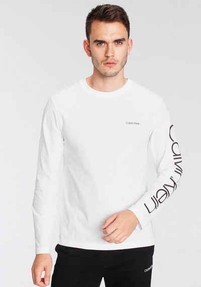 Calvin Klein Langarmshirt »LOGO LONG SLEEVE«