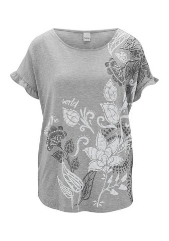 CASUAL футболка с печатным рисунком Fl...