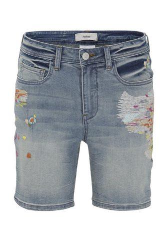 CASUAL шорты джинсовые Belena с оканто...