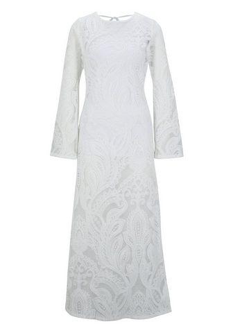 HEINE CASUAL nėriniuota suknelė su iškirptė ...