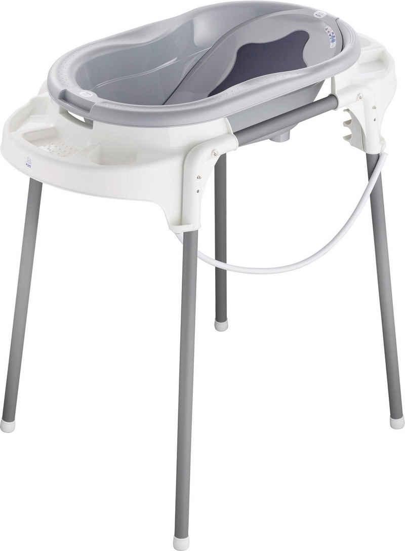 Rotho Babydesign Babybadewanne »TOP Badestation«, (Set, 4-tlg), ; Made in Germany