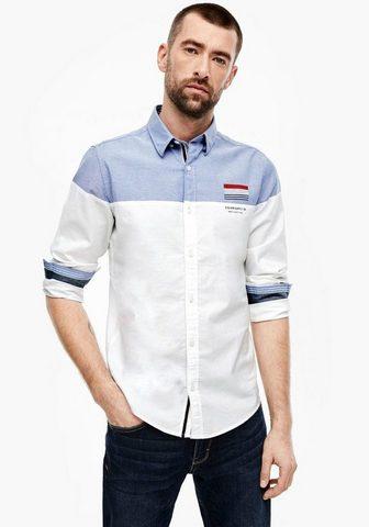 S.OLIVER Marškiniai ilgomis rankovėmis