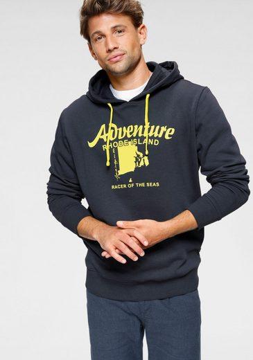Rhode Island Kapuzensweatshirt mit Kapuze