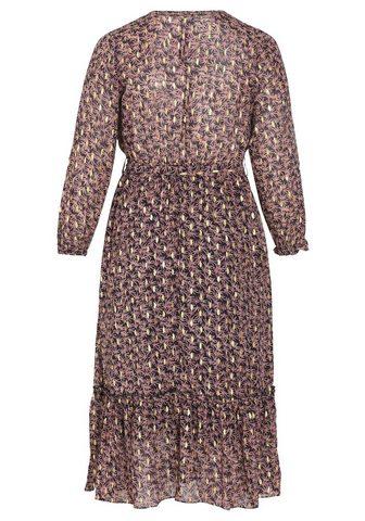 PAPRIKA Ilga suknelė »V-Ausschnitt Kaschmir«