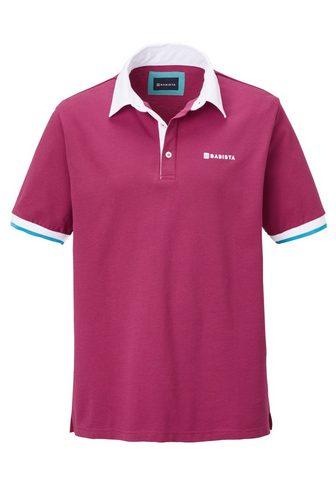 BABISTA Polo marškinėliai su kontrastingas Arm...