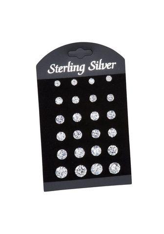 VIVANCE Auskarai »925/- Sterling Silber 12er-S...