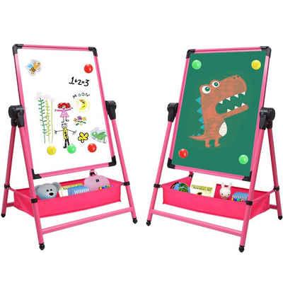 Arkmiido Standtafel »Kids Art Staffelei doppelseitiges Standtafel Kinder mit Whiteboard«, Kann als Tabelle verwendet werden