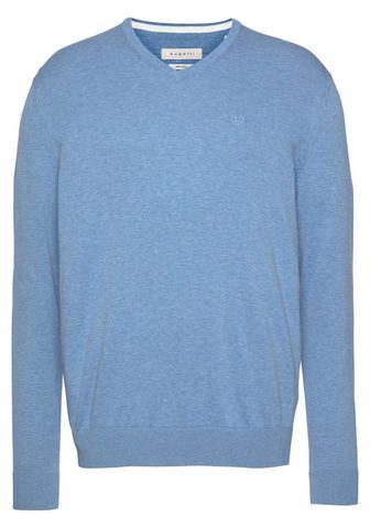 BUGATTI Пуловер с V-образным вырезом