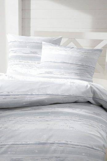Bettwäsche »Wellengang«, Primera, mit bewegten und zarten Linien