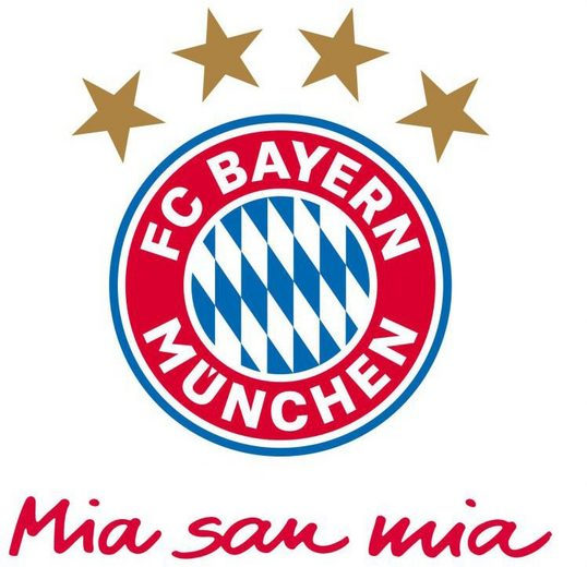 Wall-Art Wandtattoo »FC Bayern München Mia San Mia« (1 Stück)
