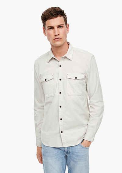 s.Oliver Langarmhemd »Regular: Hemd aus Cord«