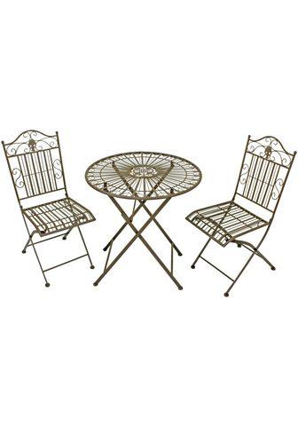 GARDEN PLEASURE Balkono baldų komplektas »Mital« 3 vnt...
