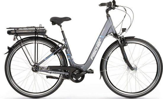 FISCHER Fahrräder E-Bike »ECU 1401«, 7 Gang Shimano Nexus Schaltwerk, Nabenschaltung, Frontmotor 250 W