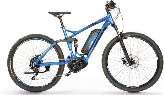 FISCHER Fahrräder E-Bike »EM 1862.1 MTB E-Bike«, 10 Gang Shimano Deore Schaltwerk, Kettenschaltung, Mittelmotor 250 W