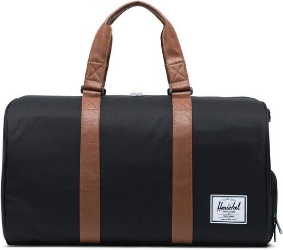 Herschel Reisetasche »Novel, Black/Tan«