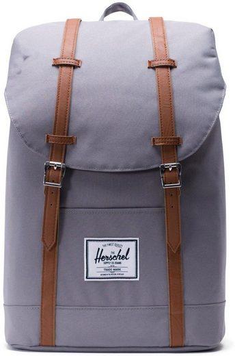 Herschel Laptoprucksack »Retreat - Grey/Tan«