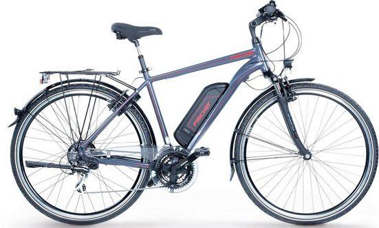 FISCHER Fahrräder E-Bike »ETH 1806 Herren Trekking E-Bike«, 24 Gang Shimano Acera Schaltwerk, Kettenschaltung, Heckmotor 250 W