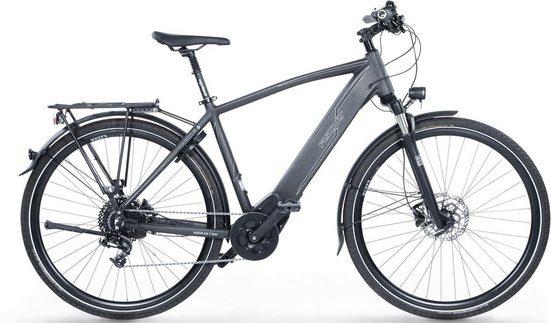 FISCHER Fahrräder E-Bike »Viator 6.0i Herren Trekking E-Bike«, 10 Gang SRAM GX 10 Schaltwerk, Kettenschaltung, Mittelmotor 250 W