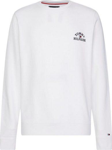 TOMMY HILFIGER Sweatshirt »BASIC EMBROIDERED SWEATSHIRT«