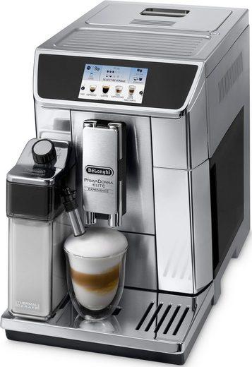 De'Longhi Kaffeevollautomat PrimaDonna Elite Experience ECAM 656.85.MS, auch für Kaltgetränkevariationen