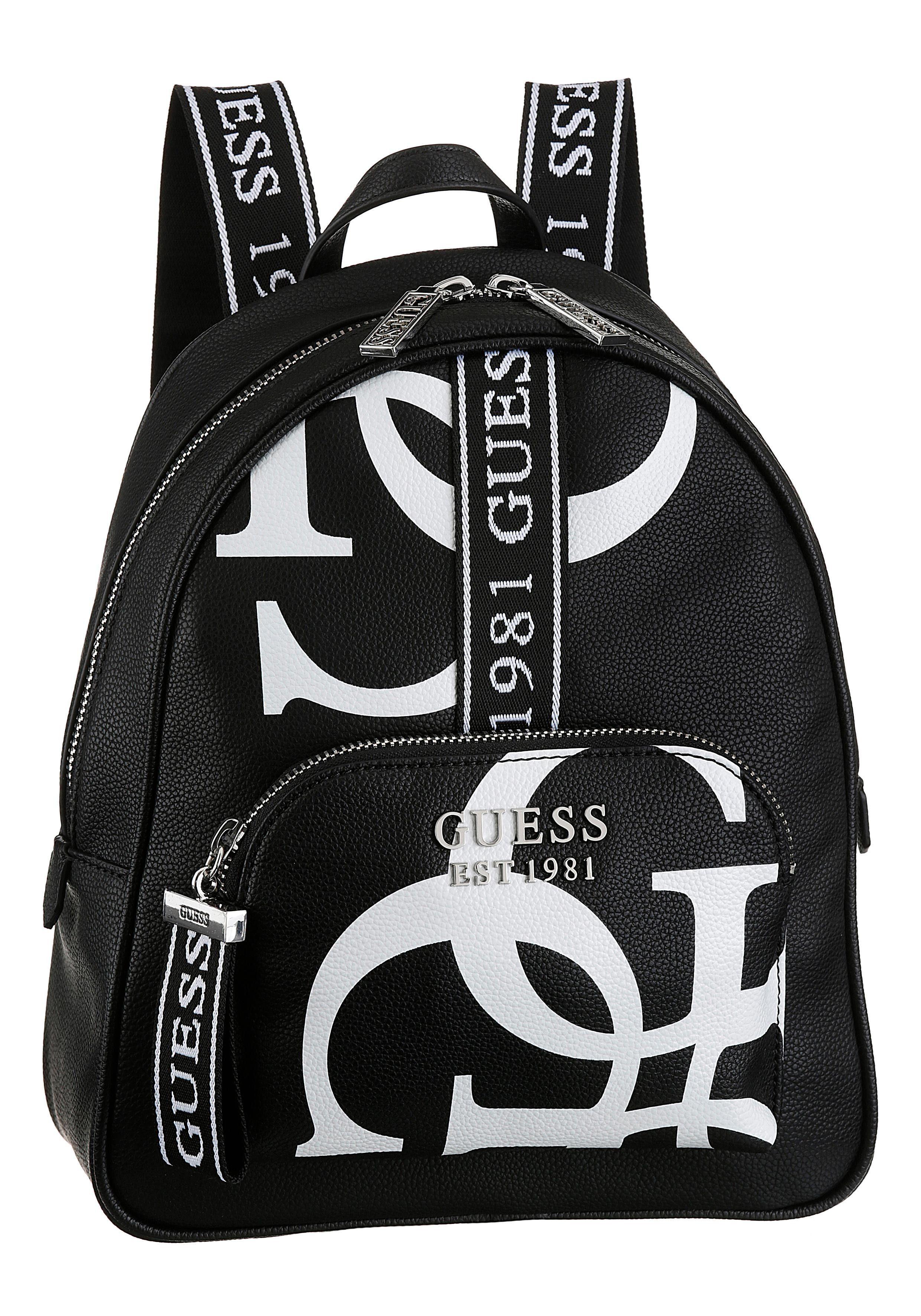 Guess Cityrucksack »HAIDEE«, mit trendigem Logo Druck online kaufen | OTTO