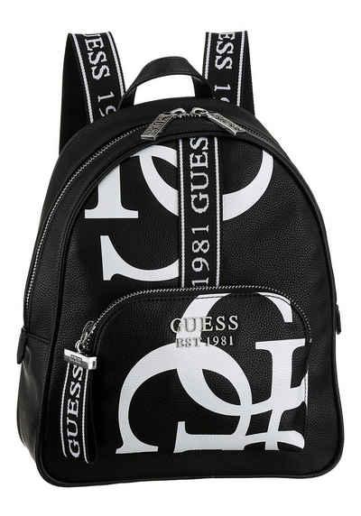 Guess Cityrucksack »HAIDEE«, mit trendigem Logo Druck