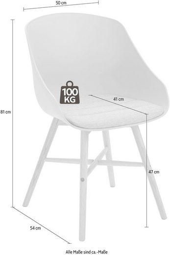 4-Fußstuhl »Ken«  (2 Stück)