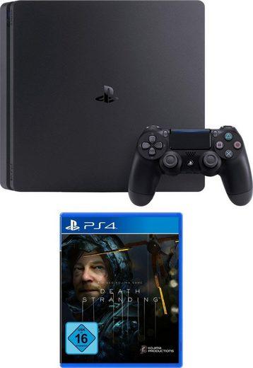 1TB Slim PlayStation 4, inkl. Death Stranding