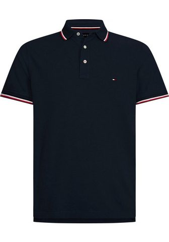 TOMMY HILFIGER Кофта-поло »TOMMY TIPPED узкий P...