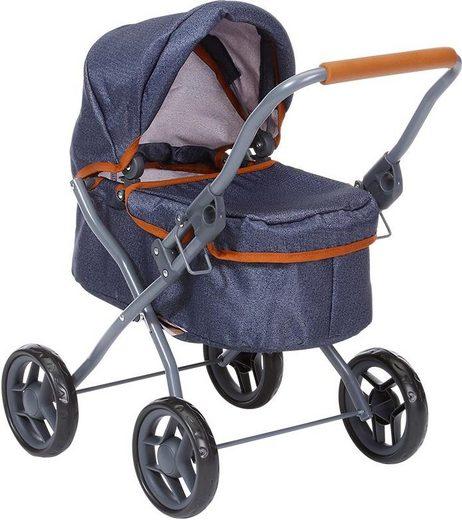 Knorrtoys® Puppenwagen »Mini Lili, dark blue«