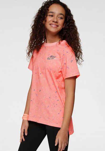 Nike Sportswear T Shirt »GIRLS NIKE SPORTSWEAR TEE STARY NIGHT«