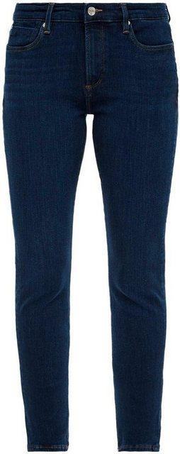 Hosen - s.Oliver Skinny fit Jeans »Izabell« in coolen, unterschiedlichen Waschungen › blau  - Onlineshop OTTO