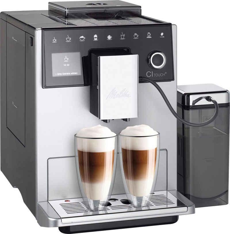 Melitta Kaffeevollautomat CI Touch® F630-101, silberfarben/schwarz